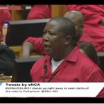 RT @MichelleL_Craig: EFF Leader Julius Malema asked to leave the chamber. #SONA2016 https://t.co/XmoaqdHYLj