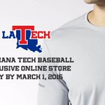 Exclusive Adidas offer available only till March 1. Fans can order @LATechBSB apparel! Buy: https://t.co/nvnBG4qxCh https://t.co/qDYU0uex7t