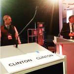.@HillaryClintons podium on tonights @PBS @NewsHour #DemDebate. (via @quinnbowman) https://t.co/jJe4vK1Ehv