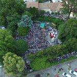 Una multitud ahora en Lourdes. https://t.co/qqpMSgQgLQ