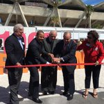 Ribbon cutting with Mayor @Tomas_Regalado, @KeonHardemon and Commissioner Wifredo Gort at @MiamiBoatShow #Miami https://t.co/slgwvuSuh6