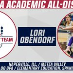 Congratulations to Lori Obendorf on being named to the CoSIDA Academic All-District Team! // #iiac #d3h https://t.co/s0ZZGbuW1Z