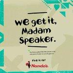 Nandos has EFF like chill! #SONA2016 https://t.co/3t0QCY26Q4