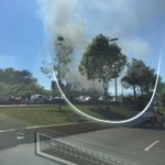 Incendió en circuito presidentes, tomar precauciones; tráfico lento https://t.co/YzgafVK6on —@AliciaSalas https://t.co/Rajkbh8kms