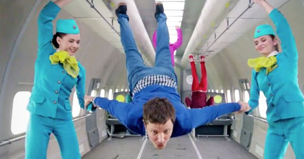 OK Go filmed a zero gravity music video that put One Direction's NASA clip to shame: