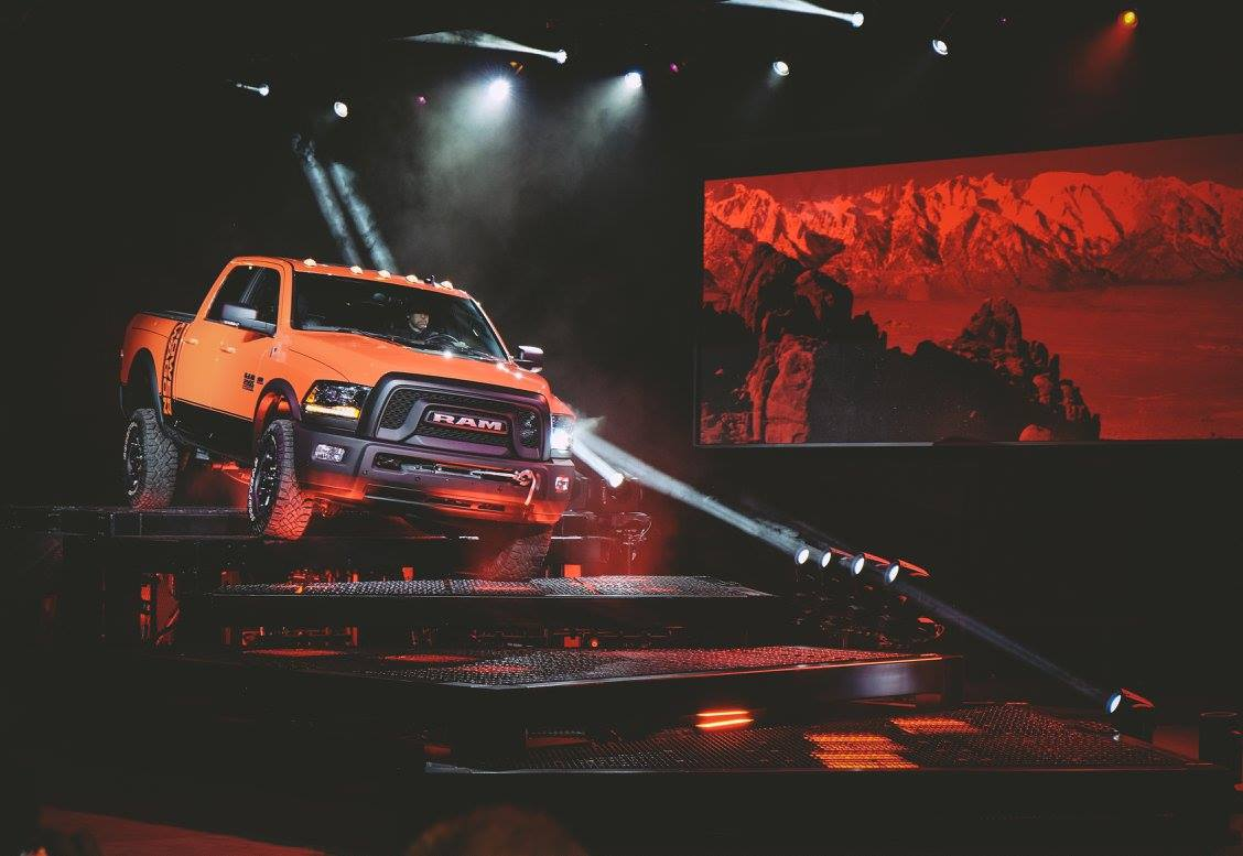 A first look at the 2017 Ram Power Wagon, revealed at the 2016 Chicago Auto Show. #CAS16 #RamPowerWagon https://t.co/D7OVTlAR8X
