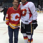@NHLFlames. @JJooris19 with his father. #dadsTrip https://t.co/pwDUOVN6K2