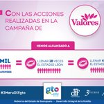 La campaña #ValoresParaTodos ha llegado a 477 mil guanajuatenses. https://t.co/psAcGnstUK