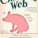Make your reservations now!! Call Edmond Fine Arts Institute to reserve your seat to see Charlotte's Web! https://t.co/IFPsDRSipz