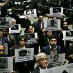 Diputados de #PRD y #Morena condenan asesinatos a periodistas; protestan por Anabel Flores https://t.co/sUoSVHx8vM https://t.co/CBAN7EGxha