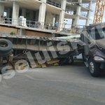 @tvnnoticias camión con carga de cemento se queda sin frenos por Plaza Edison https://t.co/cbPOsqjufu