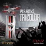 O @SaoPauloFC segue na Libertadores, e a @FIAP está na torcida pela taça. Vamos, São Paulo! #spfc #fiap https://t.co/ZdRpe91ibV