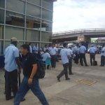 @TReporta huelga de trabajadores de mibus en huelga en Los Pueblos... hay pocas unidades del Metro bus en la calle https://t.co/C84W7ZCdon