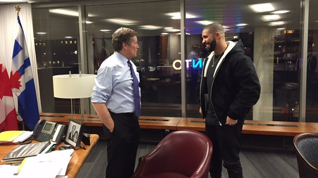 #BREAKING: Mayor Tory to present rapper Drake with key to the city on Friday https://t.co/7skeCXmk2a