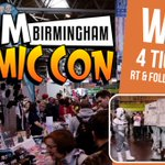 #WIN 4 TICKETS to @MCMComicCon #Birmingham 19-20 March. Follow & RT before 10/3 to enter! https://t.co/FafysIhtz6 https://t.co/sKYopClbyL