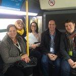 Great Rapid Transit tour in #OttCity with @FCM_online #2016SCC. #cdnmuni https://t.co/szcCvYfAH0