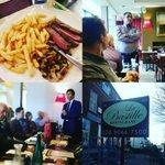 #belfasthour #TheBelfastTailor we had 20 businesses for lunch today at @LaBastilleRest - #citylunchNI networking https://t.co/uFDOaPla9J