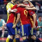 "¡¡SÍÍÍ, TIKI TAKA Y A LA FINAAAAL!! ""Orgullo, Corazón y Talento"" #España 5 - 3 #kazajistán #Aporla7 #FutsalEuroMEGA https://t.co/D4OZCWCWDZ"
