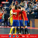 ¡¡¡FINAAAAAALLLLL!!! ¡¡¡ESTAMOS EN LA FINAL DEL #FutSalEURO!!! ¡¡¡VAMOS ESPAÑA!!! ¡¡¡VAMOS #Aporla7!!! https://t.co/LwZQjonJgj