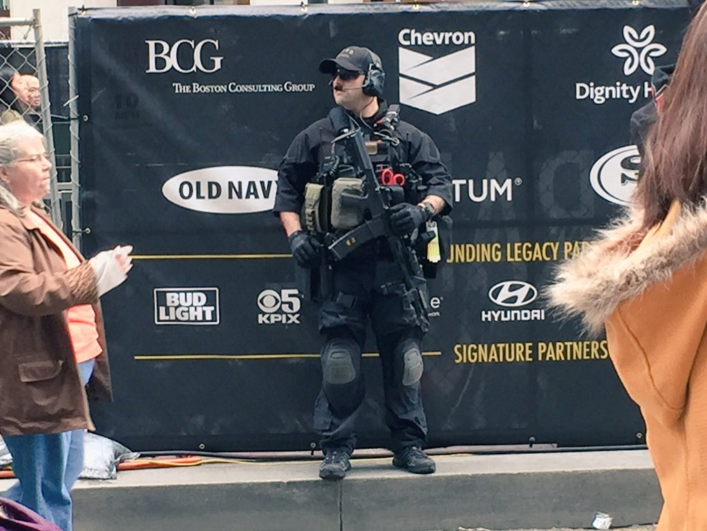 Welcome to the #sb50 militarized zone. https://t.co/bhEmyUwyH7