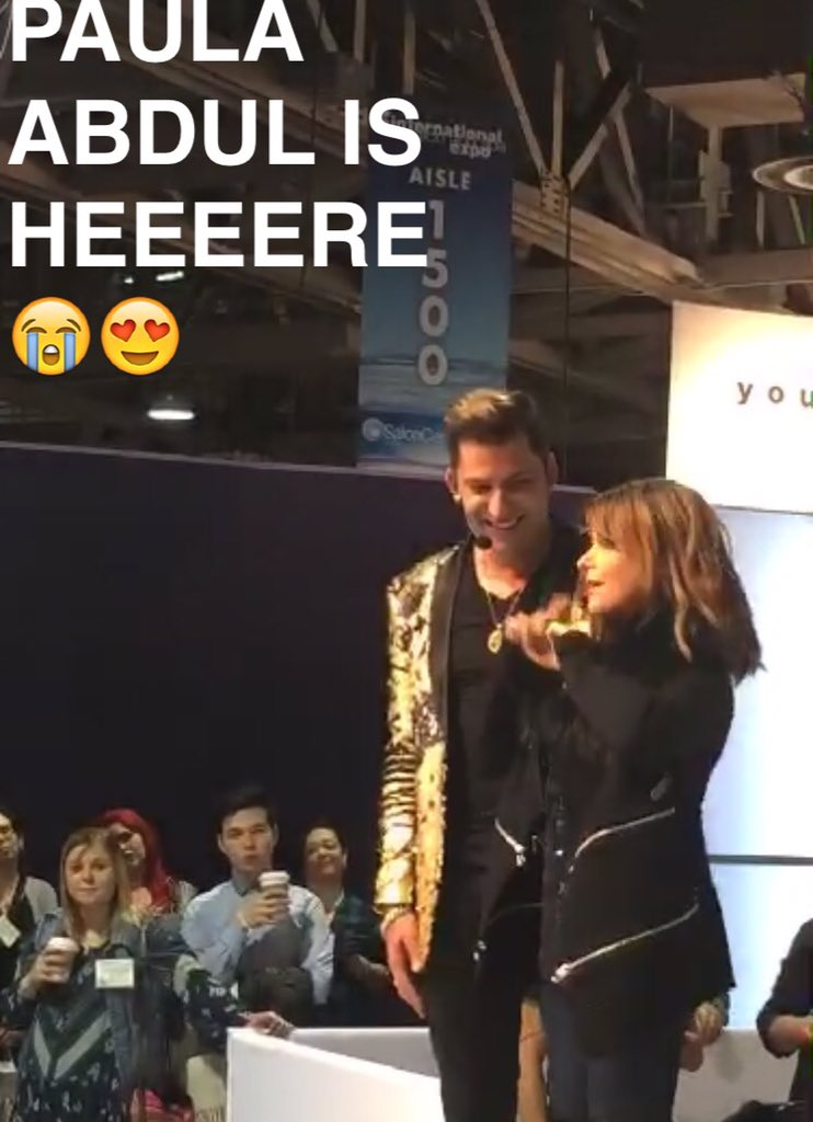 Sorry we have no chill when @PaulaAbdul shows up to #ISSELB!