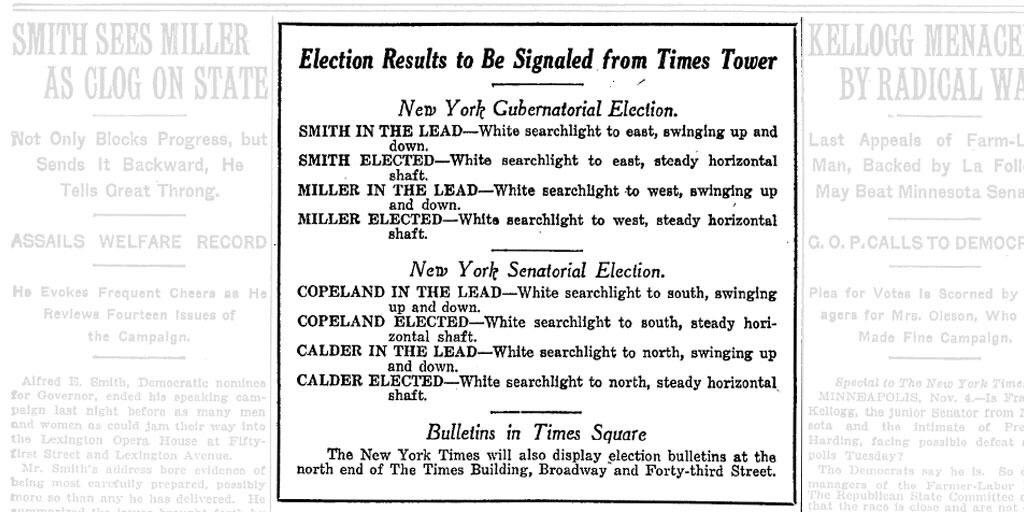 This is awesome: How the Times used to broadcast election results. https://t.co/ORGOJpp0LN
