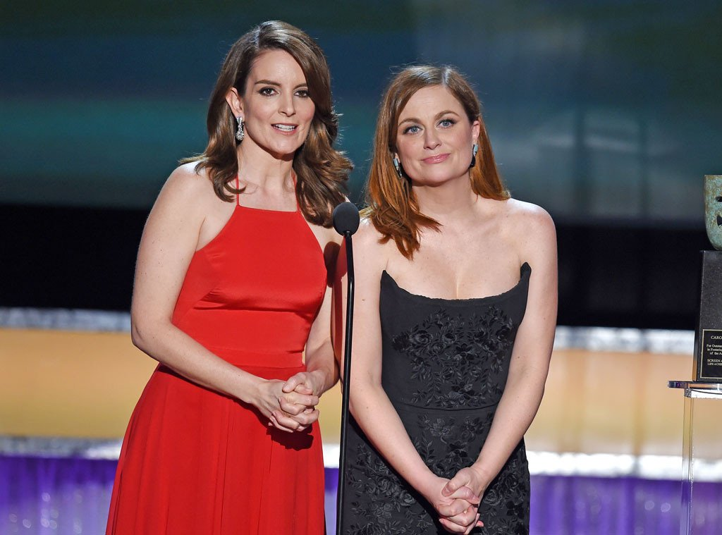 Tina Fey and Amy Poehler's SAGAwards moment makes us miss them as hosts even more: