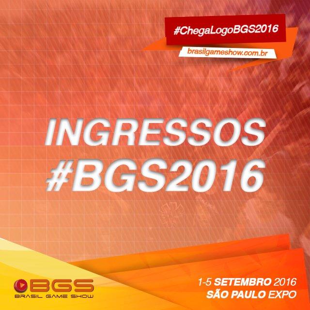 Garanta já o seu ingresso para a #BGS2016 com um descontaço :) https://t.co/0lOM9U2YlI https://t.co/Cf99LOCM39