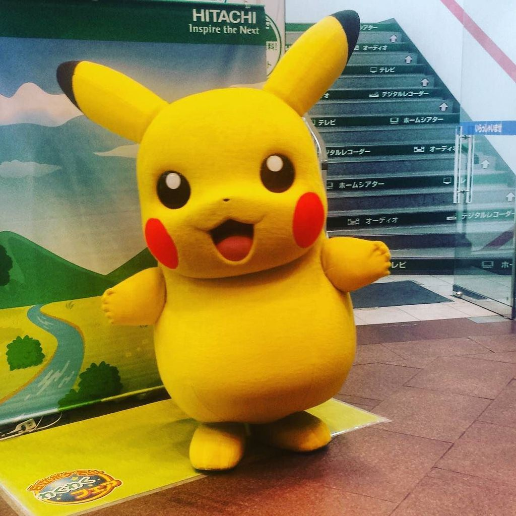 A wild Pikachu appeared in Ikebukuro! #Japan #Tokyo #pikachu #pokemon #anime https://t.co/MotPRZ3ThI