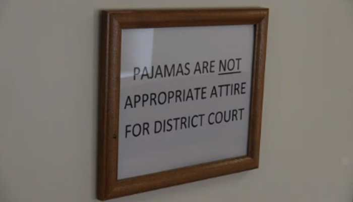 "Pennsylvania: ""No pajamas in courtroom, judge says"" https://t.co/8Jon58tZAi https://t.co/R721oH3e2X"