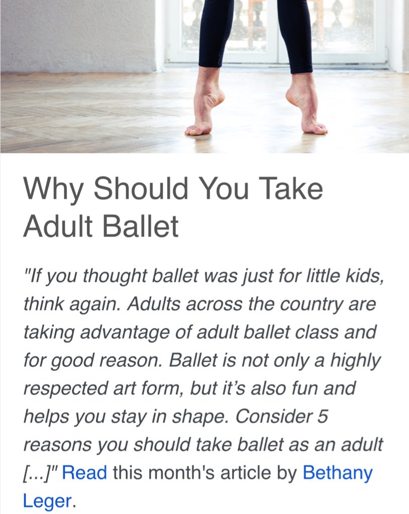 Ballet is not just for little girls... RT if you agree! https://t.co/YjaAN8ylfu https://t.co/Z0Vlxg3nqK