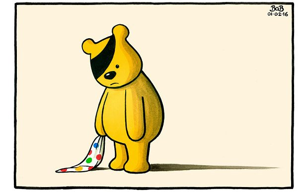 Simple yet touching cartoon by Bob in @Telegraph pretty much sums up how people feel today #Wogan https://t.co/FIE0uZOM5z