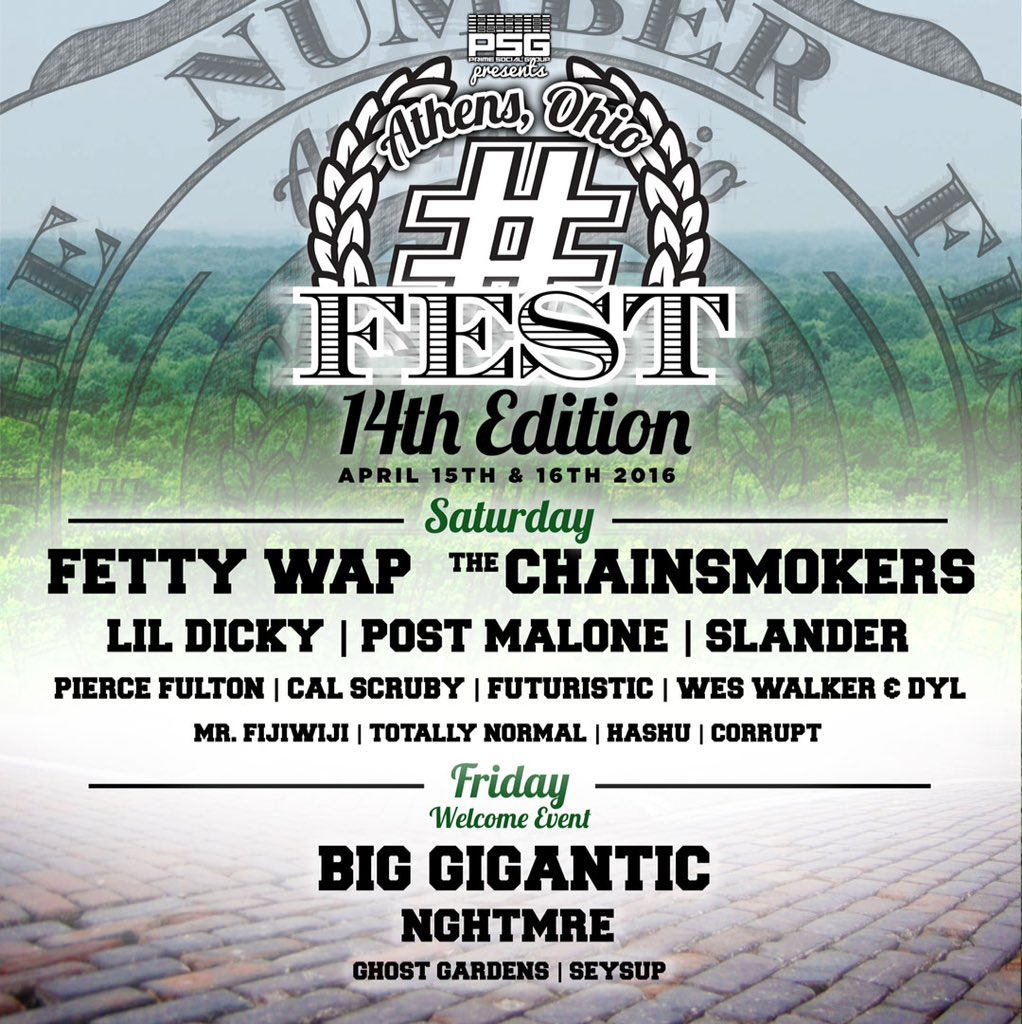 #14FEST TICKET GIVEAWAY  RETWEET & FOLLOW right now for your chance to win 2 free tickets!  https://t.co/OJurPpN6cy https://t.co/SWNH3LmLI5