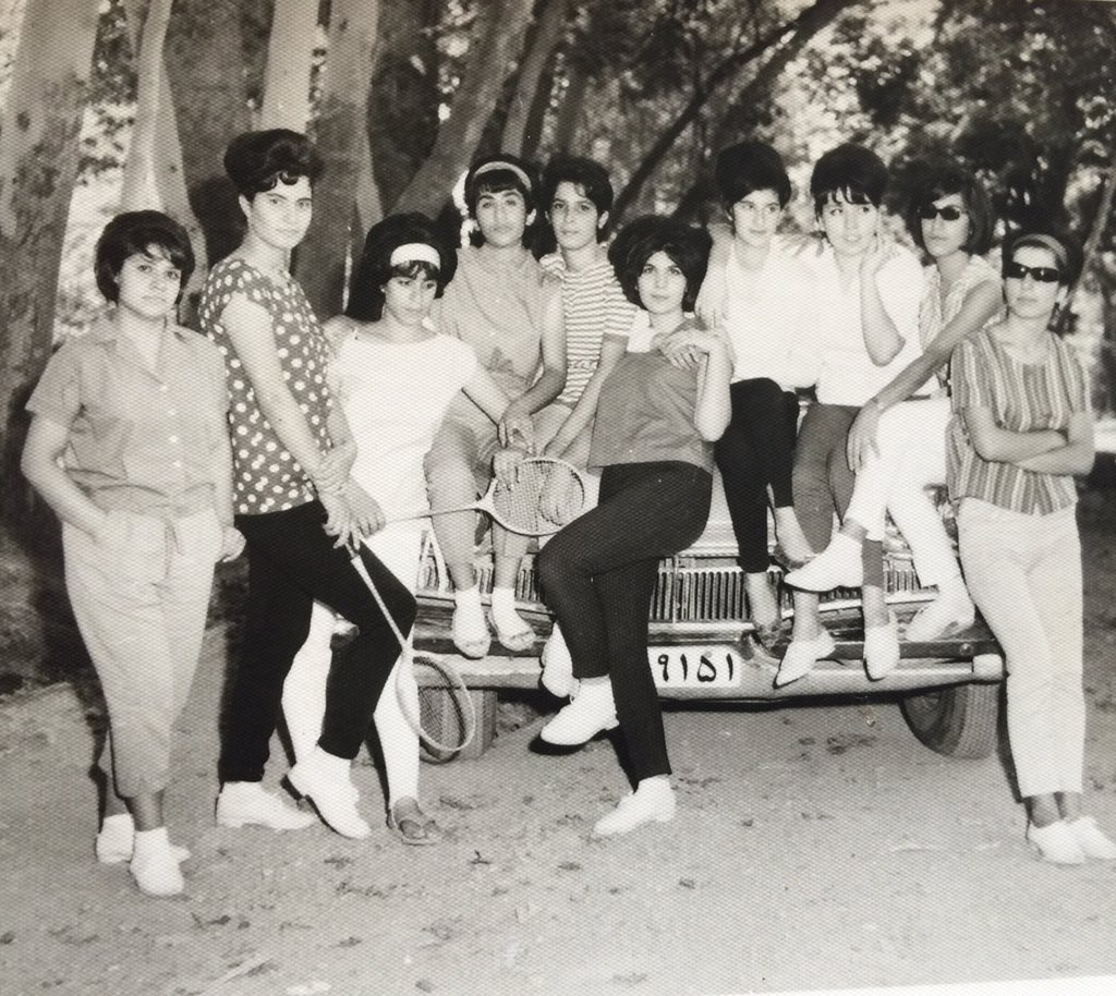 My mum & her mates in Iran before Islamic Revolution.  @F22Ross @Gato188 @RichardDawkins @abcnews @BBC @SBS https://t.co/4OVngXiayi