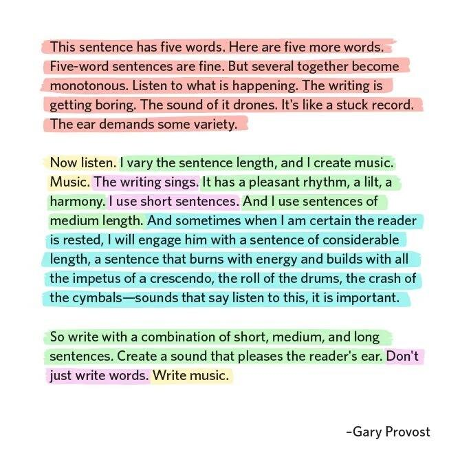 """Don't just write words. Write music."" https://t.co/FyPyZFjuiu (via @babiejenks)"