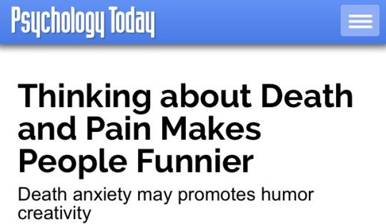 this is true i wasn't funny until i started wanting to die https://t.co/mbQxZ5PwbH