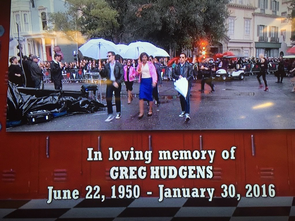 Sweet dedication at the end #GreaseLive https://t.co/iK2qgbeSqO