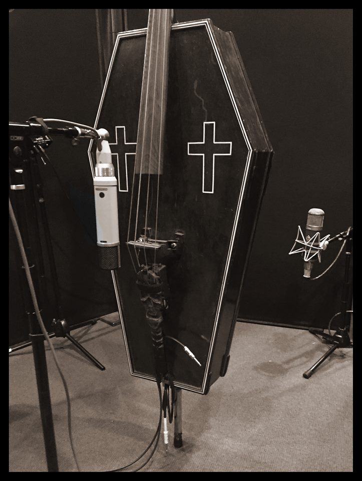 CoffinBass working hard in the studio!!! https://t.co/Qu4vtp9sgT