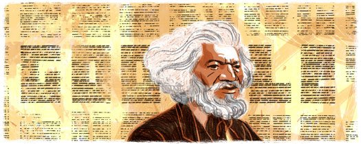 Celebrating my great great great grandfather on Google today!  #FrederickDouglass https://t.co/nnmAIMRDVU