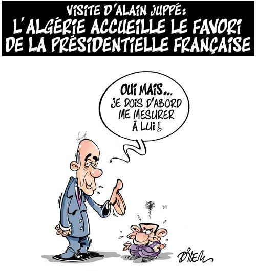 Visite d'Alain Juppé: l'Algérie accueille le favoris de la présidentielle française. https://t.co/4jVome05Bk