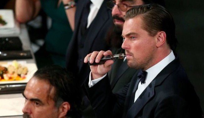If Leo can vape at the SAG awards, then I can vape at work is what I'm telling my boss today https://t