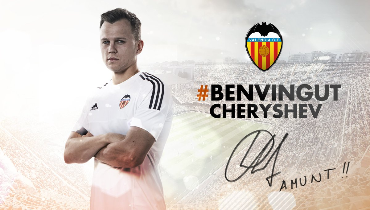 OFICIAL | #BenvingutCheryshev ➡ https://t.co/tsFbc5T2uS https://t.co/pombhlWqBq