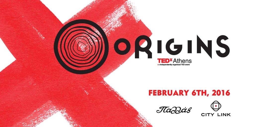 Πάμε «πίσω στην αφετηρία» μαζί με το φετινό TEDx Athens! Δείτε το πρόγραμμα:
