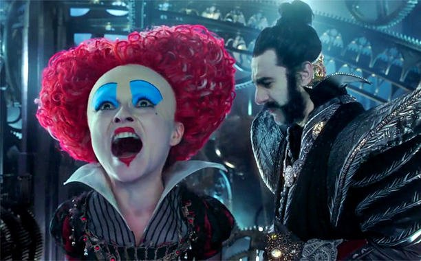 The new 'Alice Through the Looking Glass' teaser features the voice of Alan Rickman:
