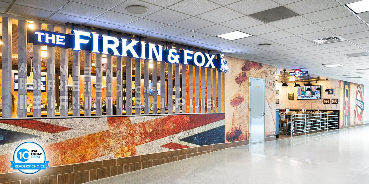 Cast your ballot for The Firkin and Fox - Best Airport Bar @usatoday's 10Best Vote: