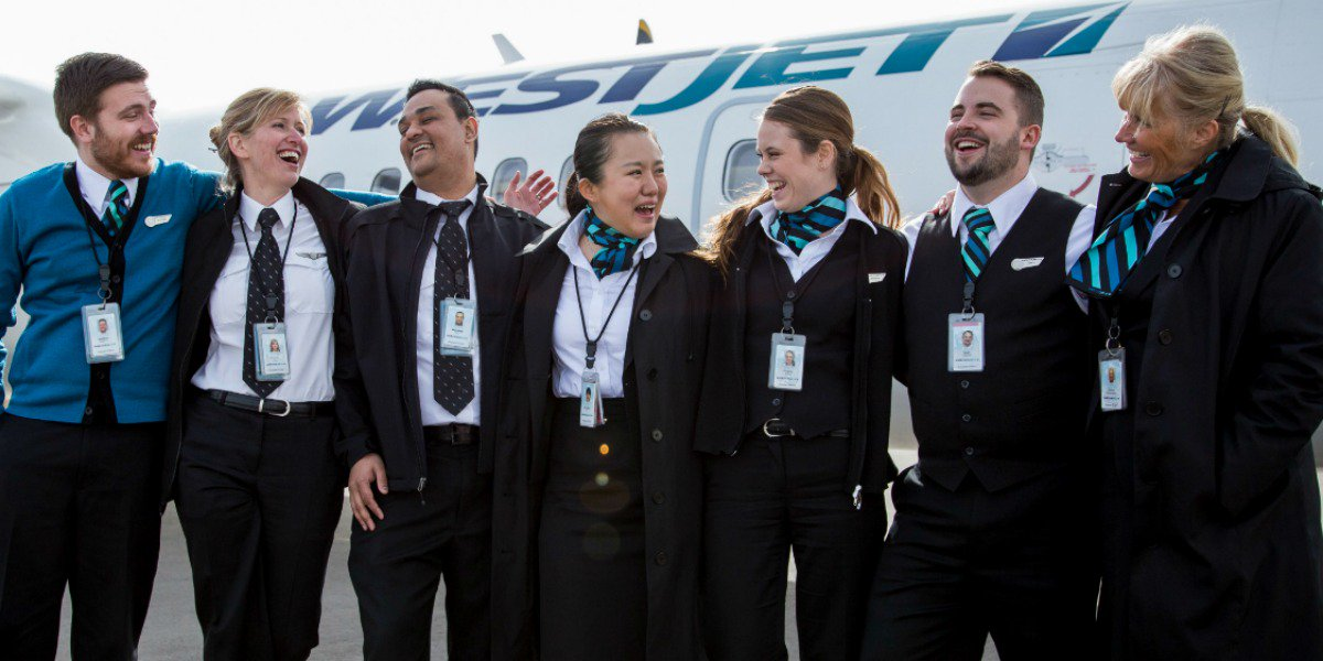 Join us! We're hiring WestJetEncore Toronto-based French bilingual flight attendants:
