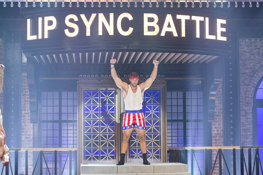 How does Tim Tebow's Lip Sync Battle stack up against Channing Tatum's?