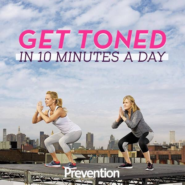 Workout with me! @Preventionmag #fitin10 https://t.co/scmAaGls1O https://t.co/SdSfZbazmx