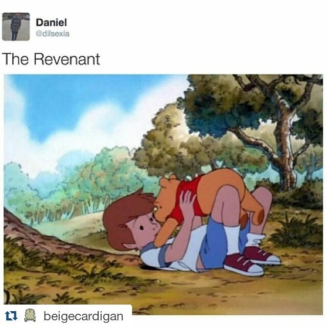 Spoiler for The Revenant! https://t.co/41AbZKjp8Y