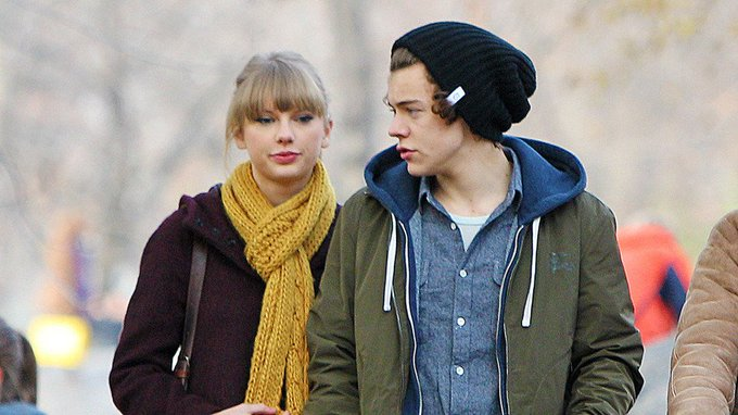 Harry Styles wished himself a happy 22nd birthday with Taylor Swift lyrics: